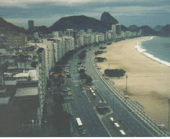 Ρίο ντε Τζανέιρο: Avenido Atlantica -Copacabana Beach