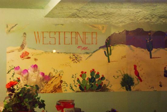 Westerner Motel: lobby