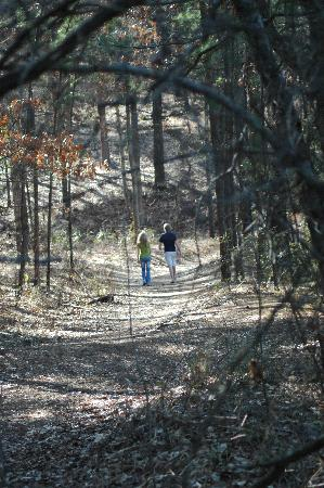 Tyler, TX: hiking the nature trail