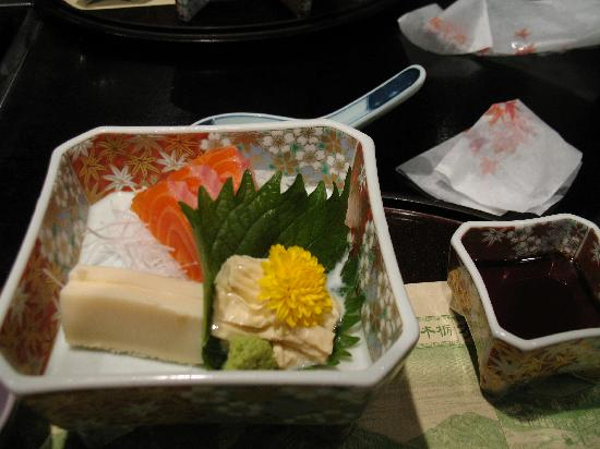 Okunikko Konishi Hotel: Part of the lovely kaiseki dinner
