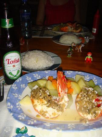 Ike's Place Vientos del Norte: Yummy lobster dinner