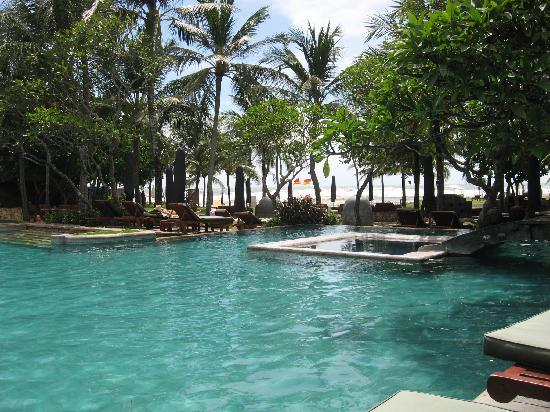 The Royal Beach Seminyak Bali - MGallery Collection: The main pool at Sofitel