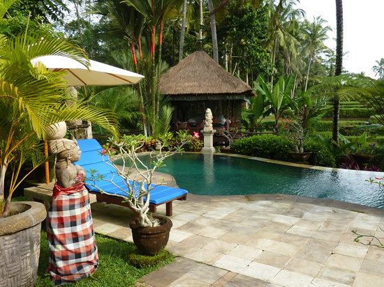 Villa Orchid Bali: Relaxing on the pool or in the Bale