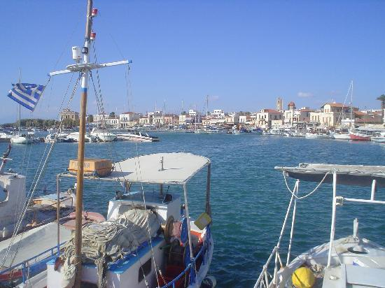 Aegina Port Greece