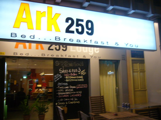 New Society Backpackers' Hotel : Ark 259 Lodge-Night vision