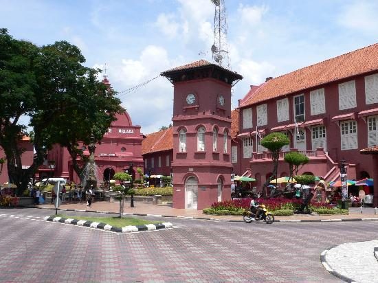 Melaka, Malaysia: Die rote Stadt