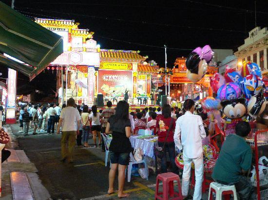 Malacca, Malaisie : Nchtmarkt in Chinatown
