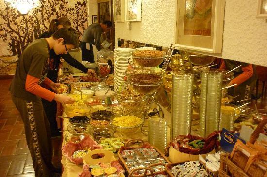 Hotel Astoria: la colazione in Astoria