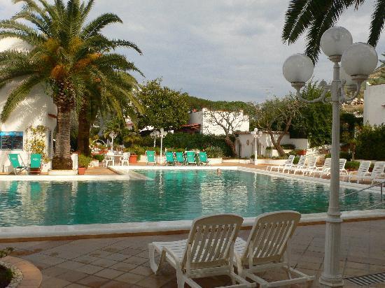 Hotel Terme Royal Palm : Thermalbecken im Freien