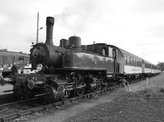 Paimpol, Frankrike: Der Zug