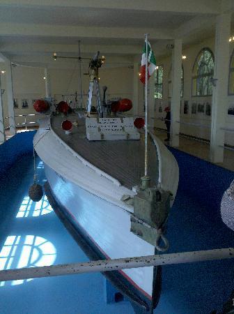Gardone Riviera, Italia: MAS - Motoscafo Antisommergibile