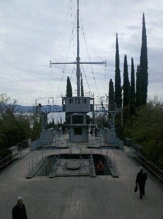 Il Vittoriale degli Italiani: Nave Puglia
