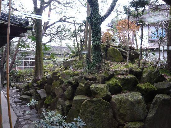 Yoshino Ryokan: 中庭