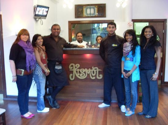 Kismot Indian Restaurant Edinburgh