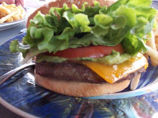 Brennecke's Beach Broiler: Burger