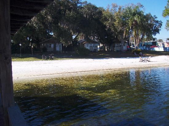 Lake Placid, Floride : Private beach