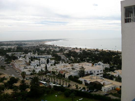 Anezi Tower Hotel : the view