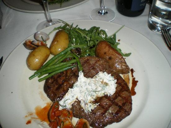 Town Kildare Street: Rib Eye Steak
