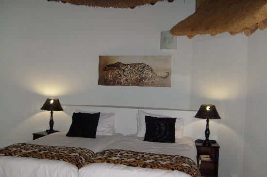 Sabie River Bush Lodge: The bedroom we had