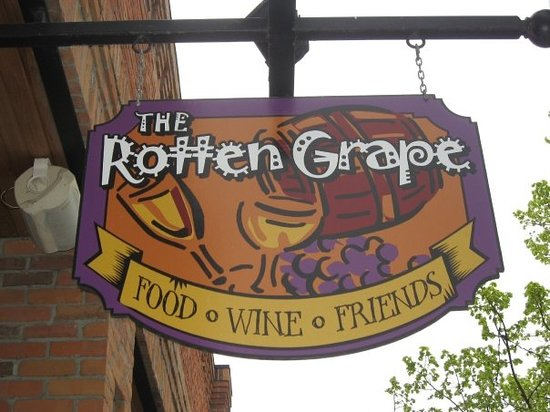 The Rotten Grape: Located Downtown Kelowna