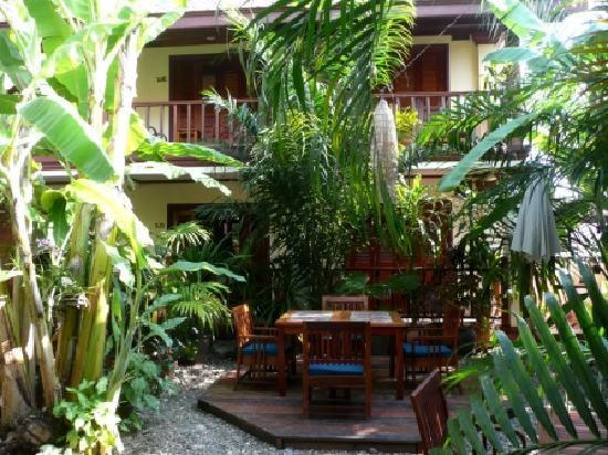 Lotus Villa Boutique Hotel : Giardino