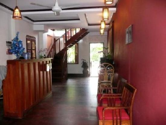 Lotus Villa Boutique Hotel : reception