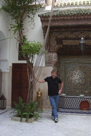 Riad Safar : le patio