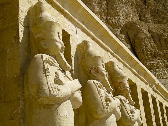 Templo funerario de Hatshepsut en Deir el Bahari: Temple of Hatshepsut, West Bank, Luxor