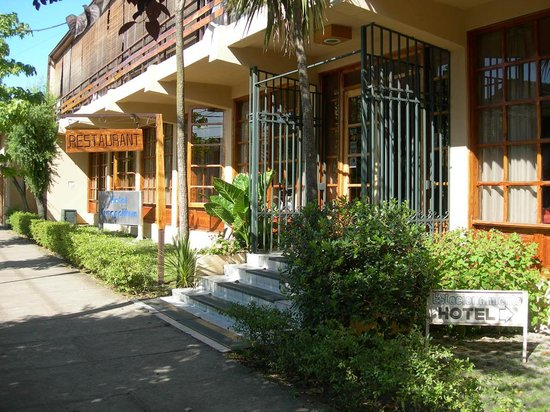 Linares, Chile: Portada del Hotel Cuapalihue