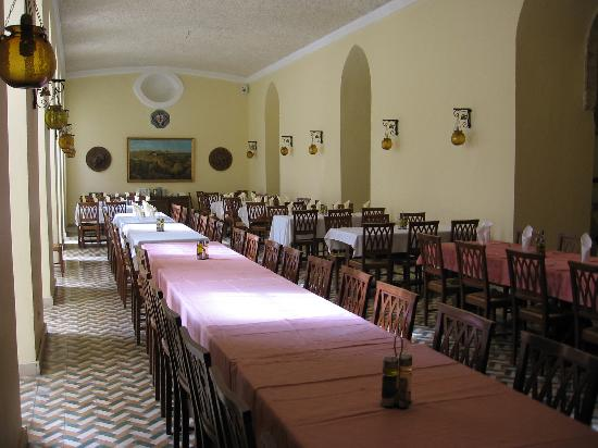 Knights palace dinning hall
