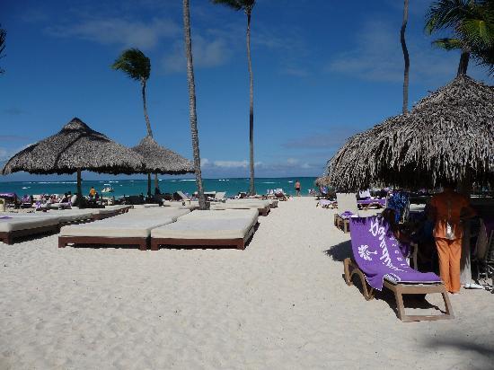 Paradisus Punta Cana Resort : Vue partielle de la plage