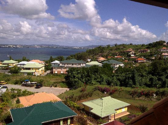 La Suite Villa : View from Caramel suite