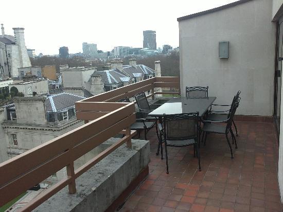 InterContinental London Park Lane: Balcony view