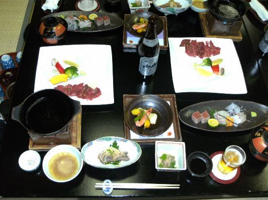 Takeo, Japan: 夕食