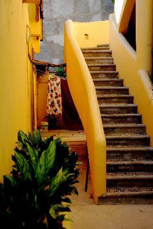 Villas San Sebastian: Staircase.