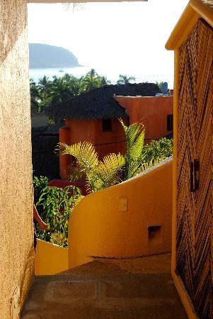 Villas San Sebastian: Hallway.