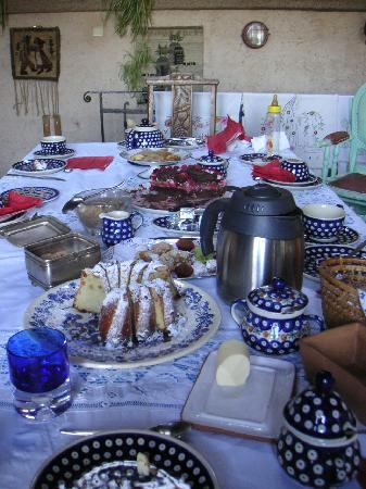 Alina et Gerard Cahen: 朝食の風景