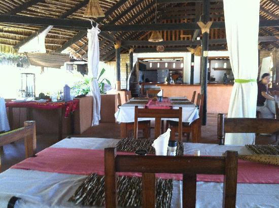 Kilwa Ruins Lodge: Restaurant
