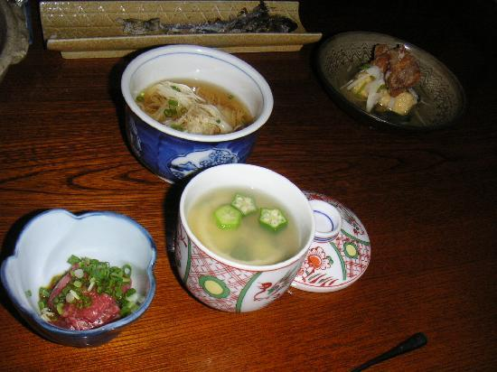 Sosuke: 夕食のほんの一部