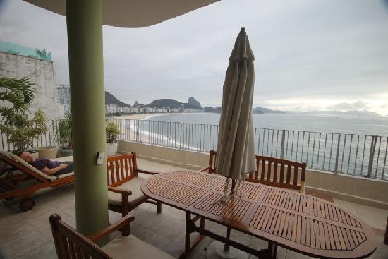 Rio Guest House ( Marta's Guest House): terrace with perfect view