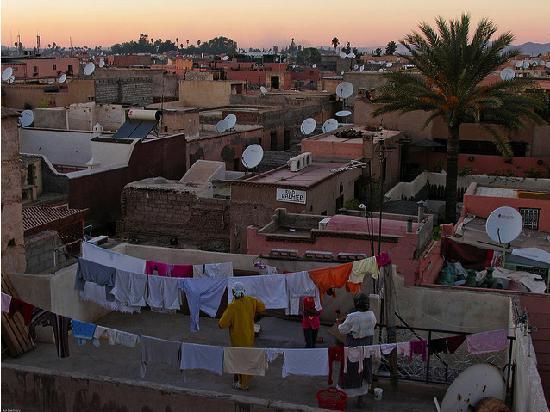 Lost in Marrakech : 洗濯風景