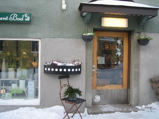 Kiruna, Szwecja: 村の雑貨屋