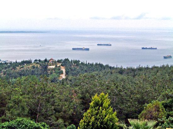 Hotel Philippion: Blick aus dem Hotelfenster
