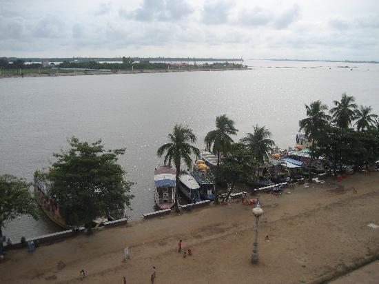 Paragon Hotel: Blick vom Balkon