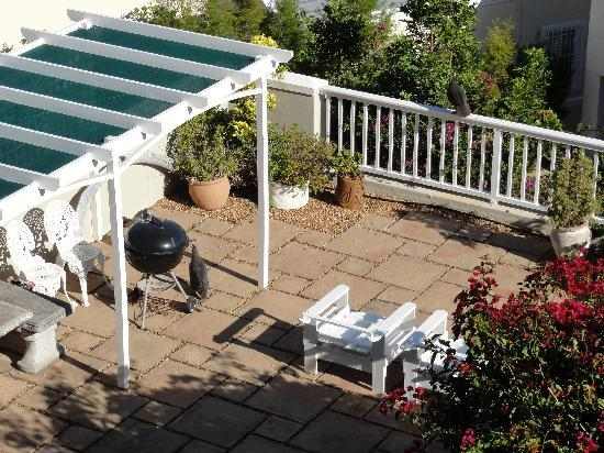 High Gables Bed & Breakfast, Self-Catering: Sunbathing area