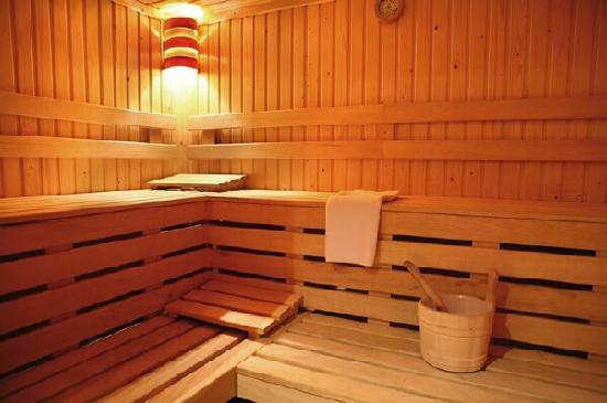 Hotel Les Chalets du Prariand: Hôtel Club - Megeve - Sauna