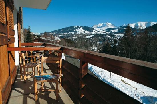 Hotel Les Chalets du Prariand: Hôtel Club - Megeve - Vue Mont Blanc