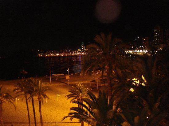 Hotel Colon: de la chambre côté mer la nuit