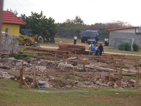 Islazul Villa Don Lino: Vue sur le chantier