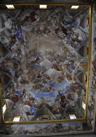 San Lorenzo de El Escorial, Spain: Treppenhaus